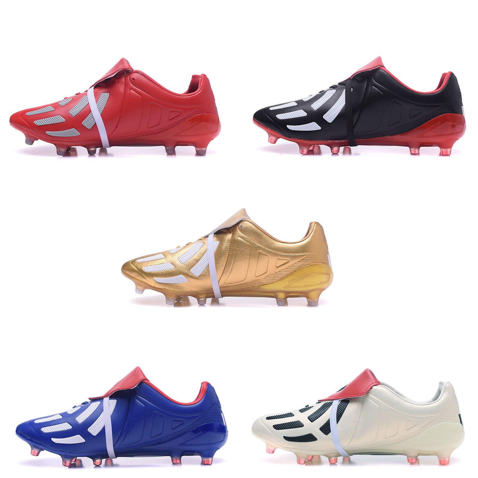 1e566d3be6c6 ... 2018 2017 predator mania champagne fg mens soccer cleats shoes boots  original quality ace 17 mens