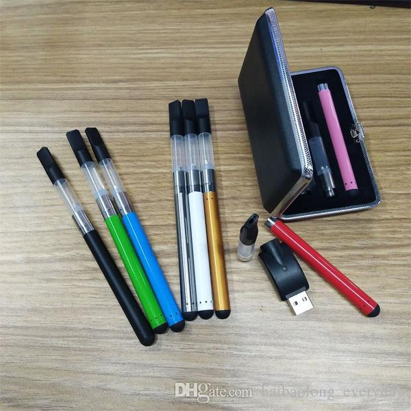 NEW electronic cigarettes open vape pen Vaporizer E Cig gift box Kits 510 Thread Vape Oil CE3 cartridge Tank starter kit