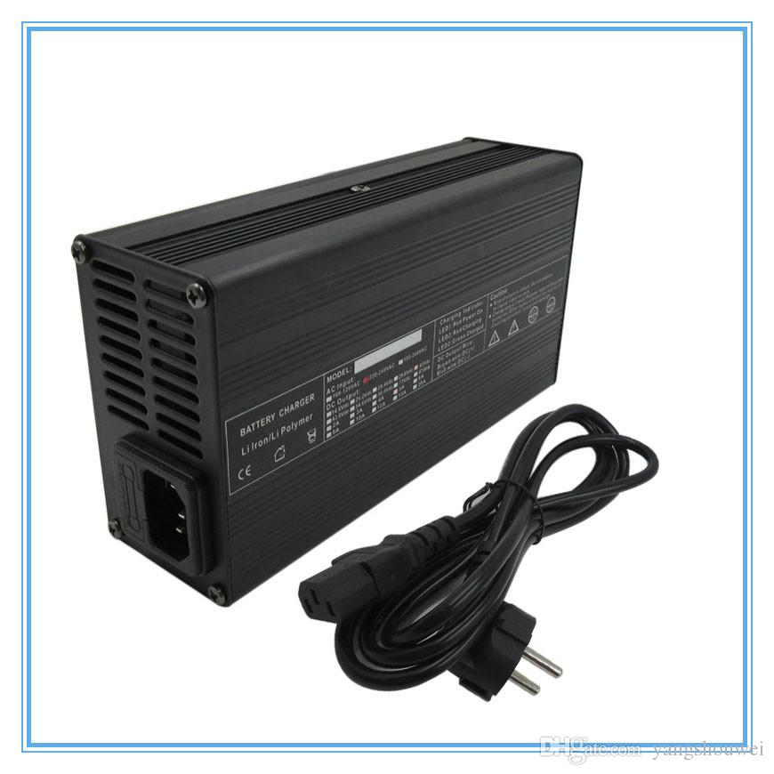 High quality 240W 48V 4A Ouput 54.6V 4A charger XLRM Port Used for 48V 13S Lithium electric bike Scooter battery charger