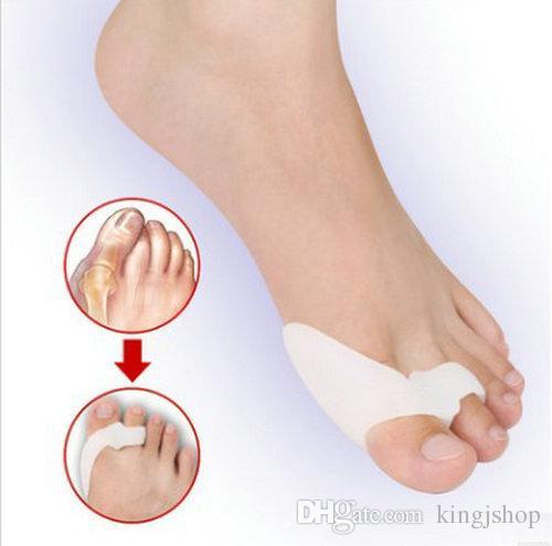 DHL Hakiki özel halluks valgus bisiklik başparmak ortopedik destek düzeltmek ortez günlük silikon ayak büyük kemik Toes ayrılmış