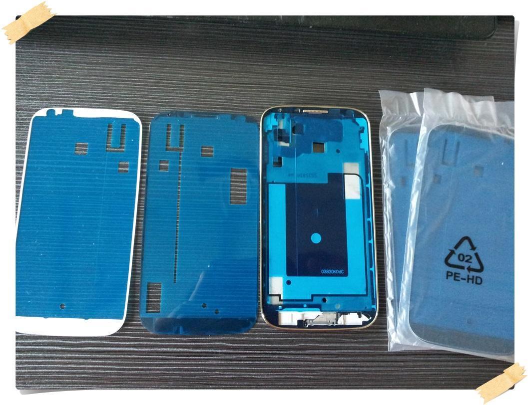 3M Rahmen anhaftender Aufkleber für Samsung-Galaxie N7000 / N7100 / S3 I9300 / S3 Mini / S4 I9500 / S4 Mini / S2 I9100 / S5 / S5 Mini / Anmerkung 2 3 A3 A5 A7 DHL geben frei