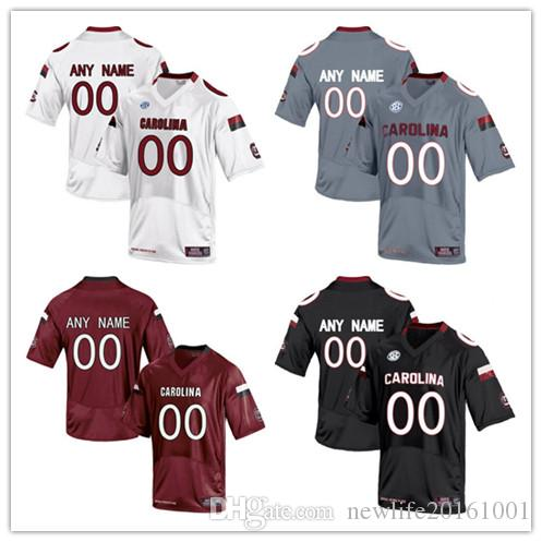 2018 Mens South Carolina Gamecocks Custom College Football Limited Jerseys   5  7  14  19 Black Gray Red White Stitched Personalized Jerseys S 3xl From  ... 2dadf7ff0