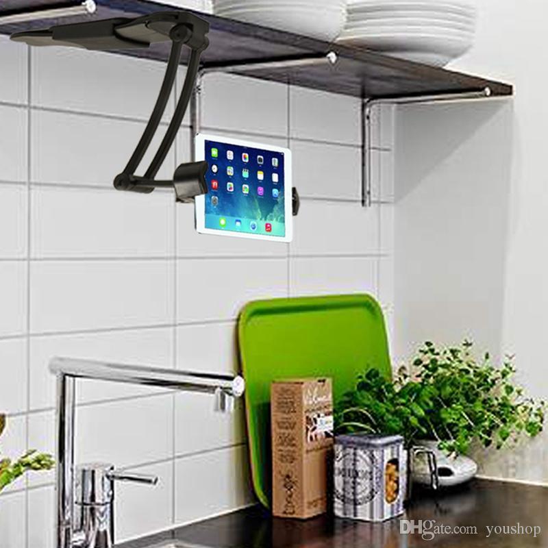 Einstellbare Küche Tablet Mount Stand Halter für 6-8,5 Zoll Breite Tablet  PC für iPad Air für iPad Mini