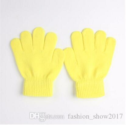 Hot Fashion Children Gloves Kids Magic Glove Mitten Girl Boy Kid Stretchy Knitted Winter Warm Gloves Pick Color