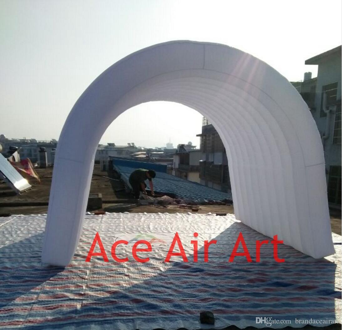 Charming inflatable air dome tent for sale Tunnel tent for exhibition/Inflatable Cool Stations for Sports event Easy set up