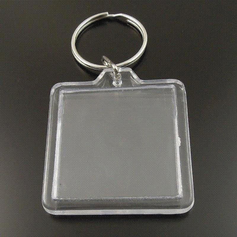 Großhandel 8 Teile / Paket Transparent Blank Acryl Einfügen ...