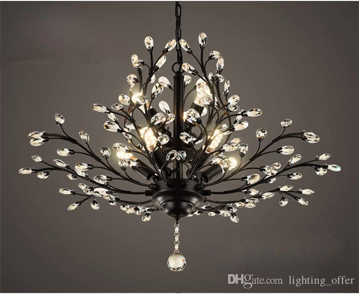 Chandilers pendant lamps crystal glass led lights modern chandilers pendant lamps crystal glass led lights modern contemporary ceiling light fixture chandelier for kitchen dining room living room cylinder pendant mozeypictures Choice Image