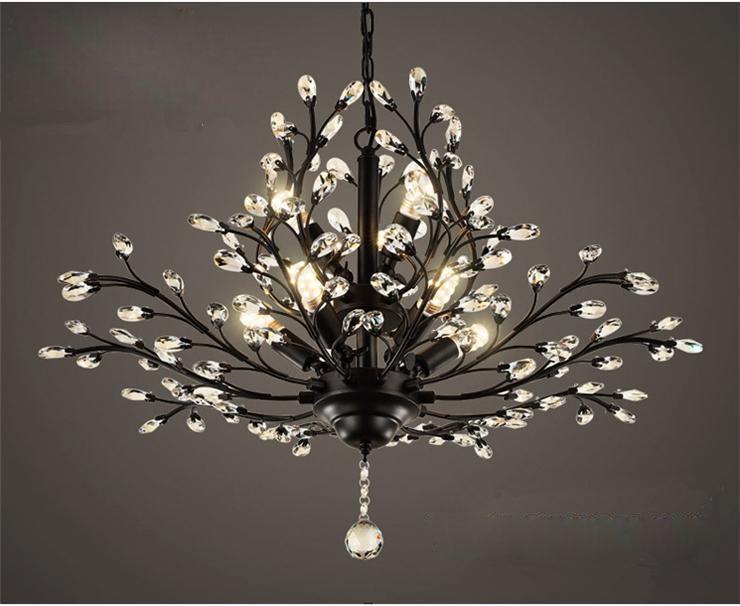 Led Lampe Kristall Kronleuchter Deckenlampe Pendelleuchte Lüster Hängeleuchte ~ Großhandel chandilers pendelleuchten kristallglas led leuchten