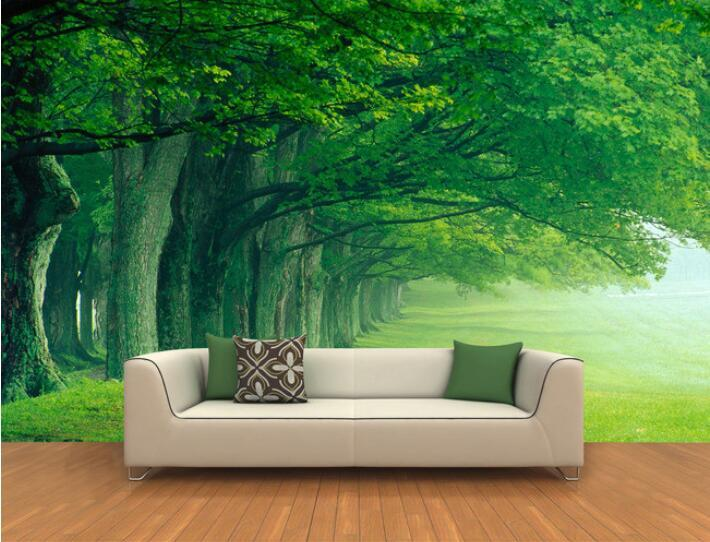 wholesale 3d wallpaper custom mural non woven wall stickers 3d deep