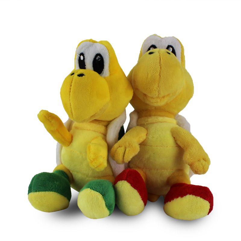 16cm Super Mario Koopalings Plush Toys Koopa Troopas Stuffed Soft Plush Doll for Child Gifts Wholesale