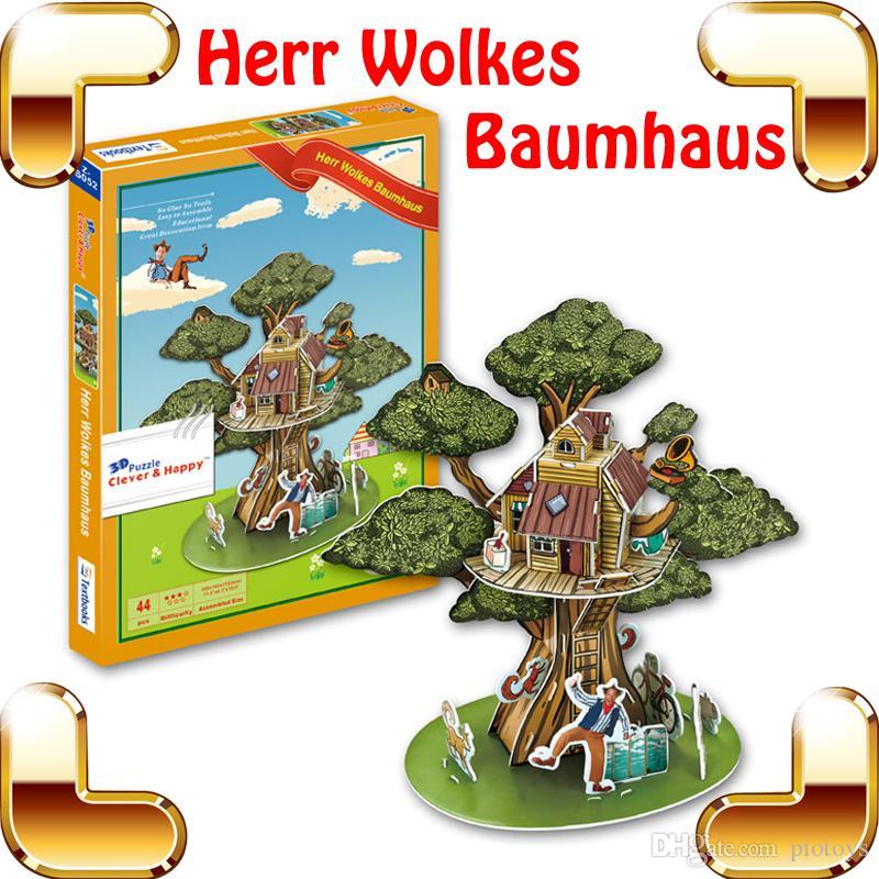 Grosshandel Kinder Tag Geschenk Herr Wolkes Baumhaus 3d Modell