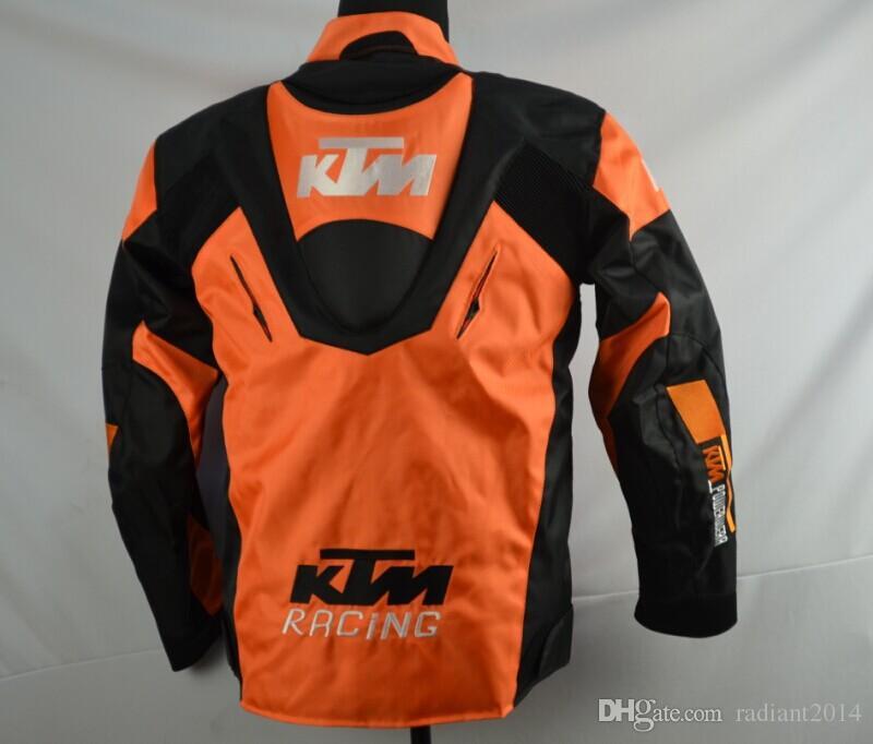 새로운 KTM 오토바이 등받이 레이싱 자켓 옥스포드 옷은 XXXL에 보호 장비 M 사이즈 재킷 큰 크기를 오토바이
