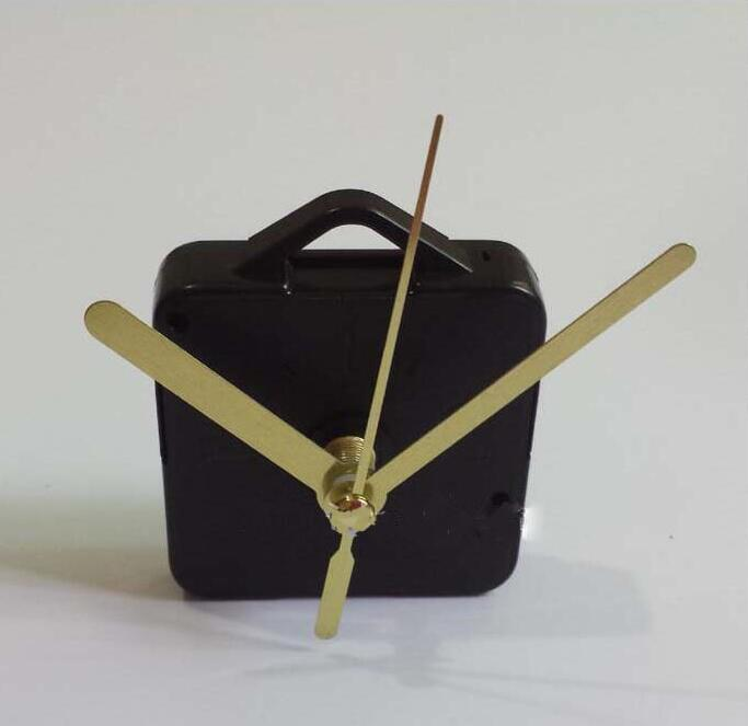 Gold Craft Gift Clock and Watch Parts Shaft Length 13cm Clock Accessories Best Quartz Clock Mechanism Movement