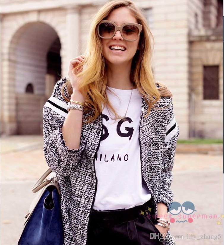 Оптово-высокое качество мужчин / для женщин MSGM футболка летняя пара бренда письма печатных топов TEE повседневная хлопчатобумажная футболка с коротким рукавом