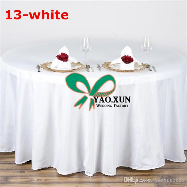 Cheap Round Tables For Sale: Sale Round Poly Table Cloth \ Cheap Price Wedding Table