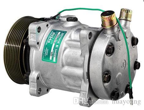 Qualitativ hochwertige Klimaanlage Kompressor für Sanden 8086 - 8240 SD7H15 24V 8G-120mm