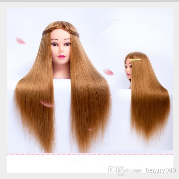 T-14 Mannequin Head Hairdressing Practice styling tools For Hairdresser Dolls Training Head or Makeup for