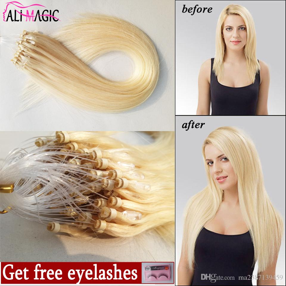 Remy Micro Loop Hair Extensionsmicro Links Extensions Ring Cheap