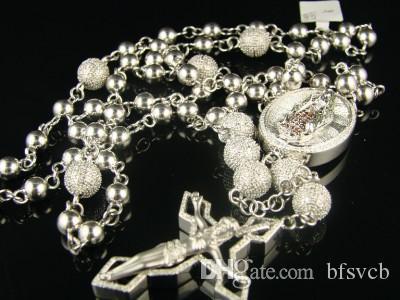 c5b997de8019 Compre Collar De Cadena De Diamantes Redondos De Oro Blanco De 14 Quilates  A  54.28 Del Bfsvcb