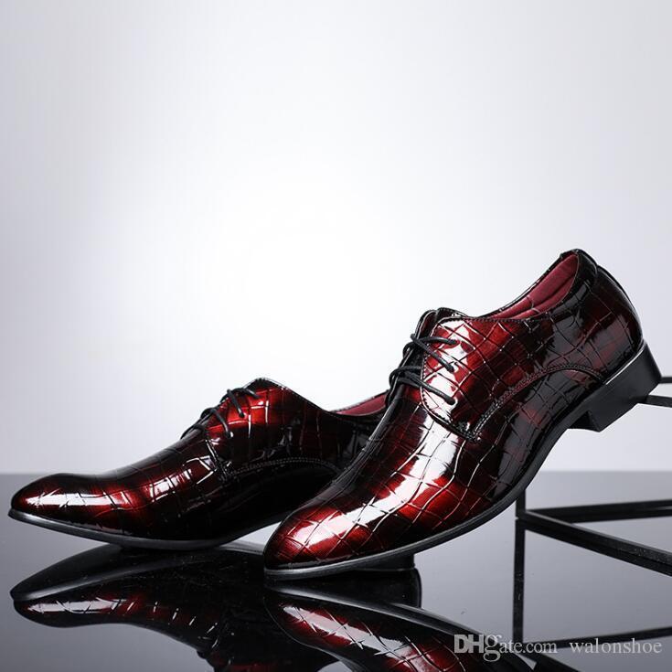 Novo Designer de Apartamentos de Couro Genuíno Dos Homens, Sapatos de Couro de Negócios Da Marca Dos Homens, Projeto Homens Se Vestem Sapatos, Homens Oxfords Sapatos Formais
