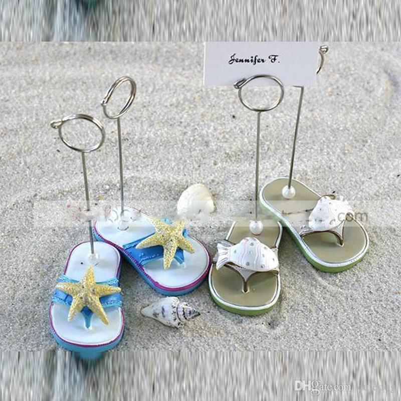 Wedding Supplies Wedding Table Card Folder Beach Theme Wedding