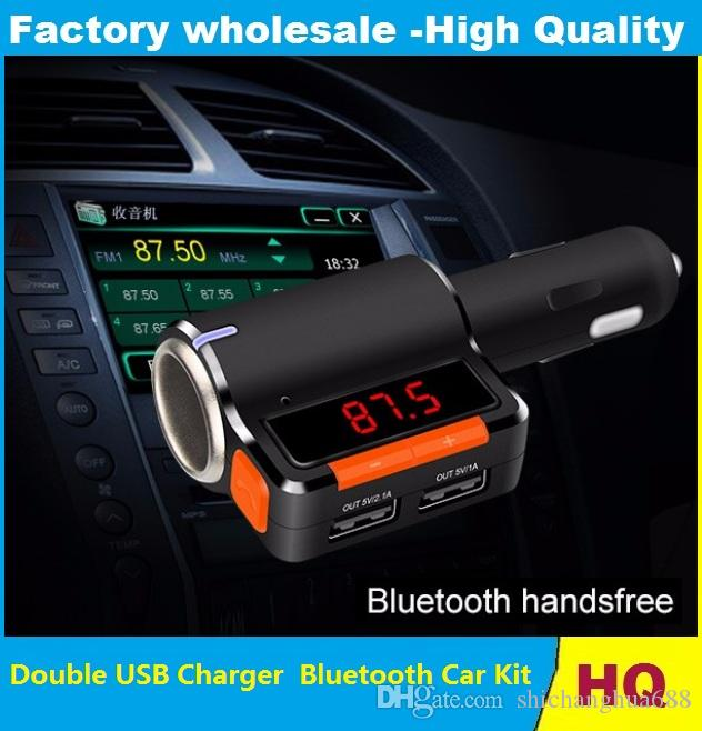 Compre Reproductor De Audio Mp3 Para Coche Bluetooth Transmisor Fm
