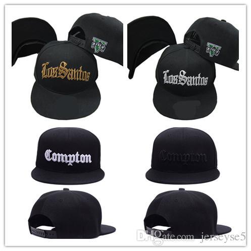29a5e244113 New Blue Black Women Men Los Angeles LA Peaked Caps Snapback ...