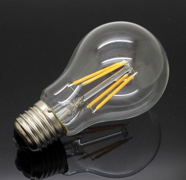new design4w e27 220v 240v ac led lamp filament cob bulbs cri 90 360