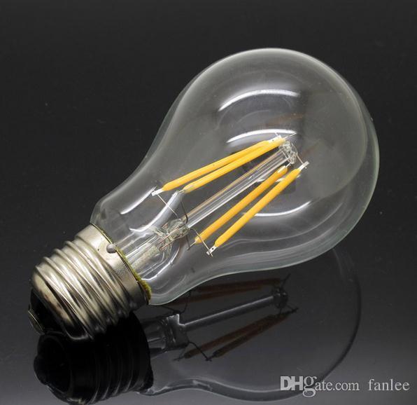 Nouveau 240 360 E27 220 V Led Lustre Filament Cri 90 Pcs Ampoules Design4w Lampe Degrés Halogène Ac Remplacer Cob 10 Lumière eEH9W2DYI