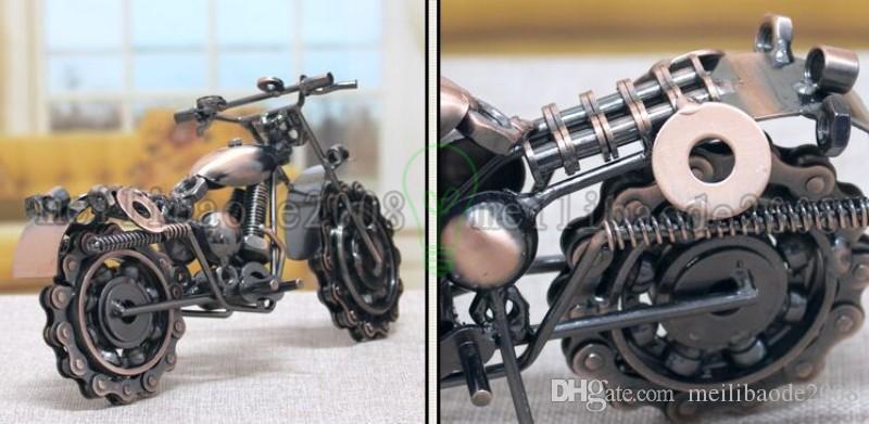 2017 새로운 뜨거운 판매 오토바이 davidson 모델 특대 철 금속 공예 크리 에이 티브 선물 아이디어 가정 장식 공예품 MYY