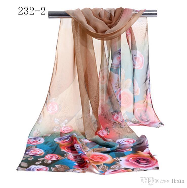 2017 новый стиль весна и осень квадратный шарф женщины лето тонкий раздел платок шарф размер 155*55 см y51-y57