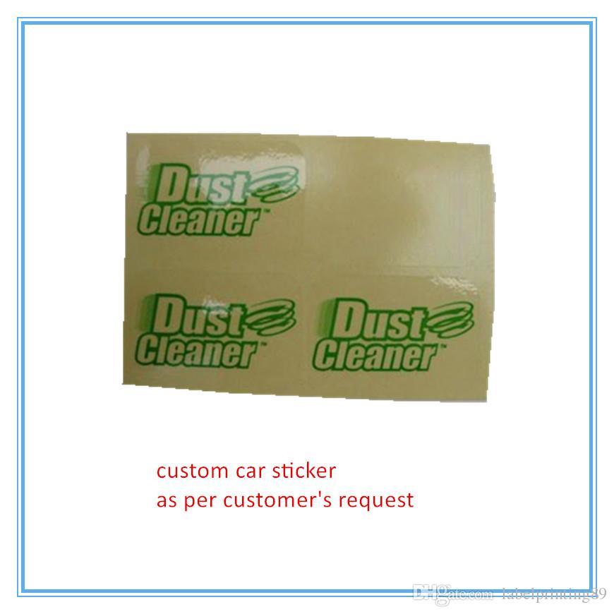 custom high quality clear PVC car sticker latest transparent label sticker  waterpoof self adhesive sticker