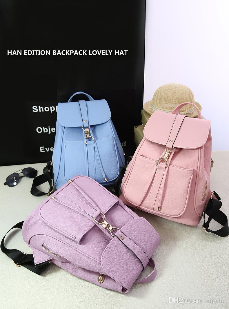 455de132bf08 Fashion Classic Backpack PVC Rivets Handbags Schoolbag Woman Bags Designers  Purses Ladies Handbags Totes for Women Handbag Shoulder Bags Backpack Style  ...