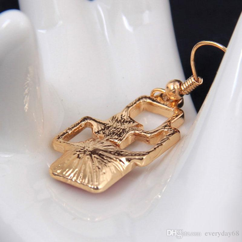 Fine Jewelry sets Fashion Rhinestone Crystal Acrylic Geometric Chokers Necklaces Earrings Long Pendants Jewellery Set For Women