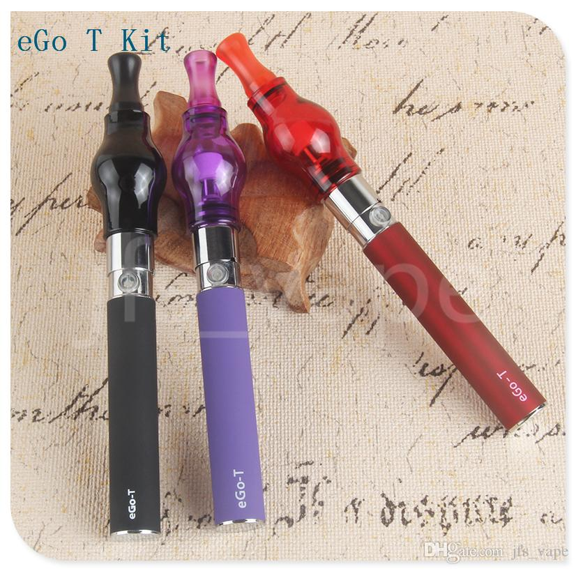 eGo-T dab vape Vapor pen Colorful Glass Globe atomizer zipper case dry herb vap wax oil Compact Portable ego-t Battery starter carry kits