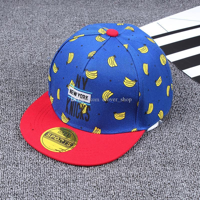 New Spring Summer Kids Fashion Caps Children Boys Girls Casual Cotton Letter Baseball Caps Adjustable Hip Hop Snapback Sun Ball Cap