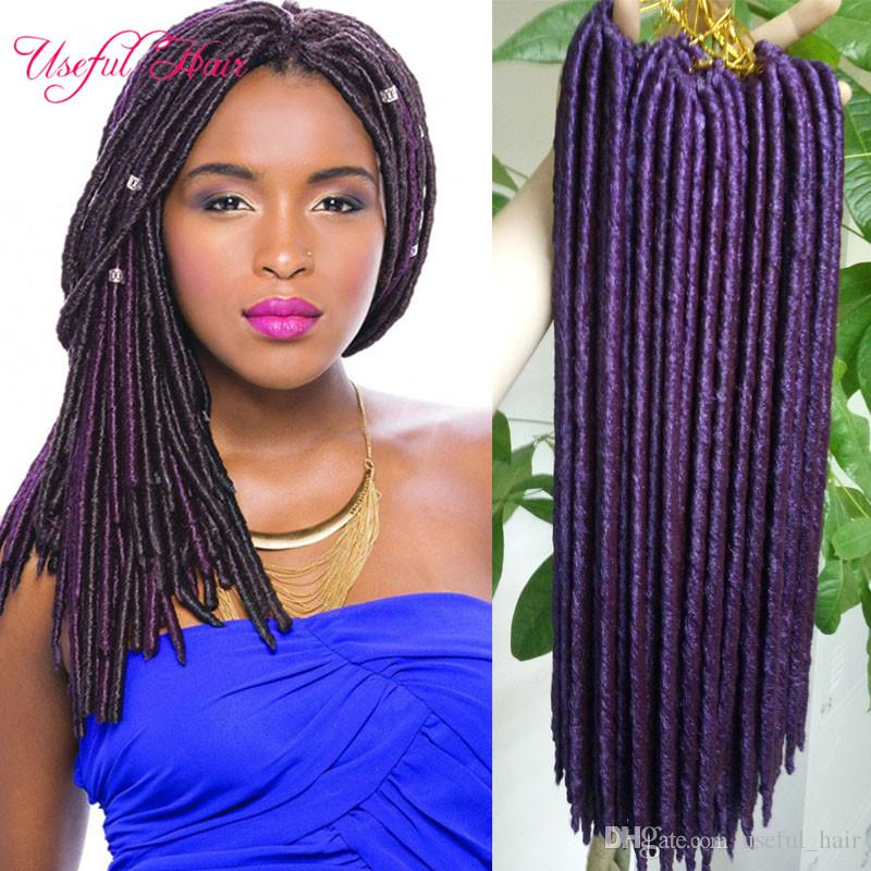 Faux Locs Crochet Braids 14 18inch Synthetic Hairbraiding Braid