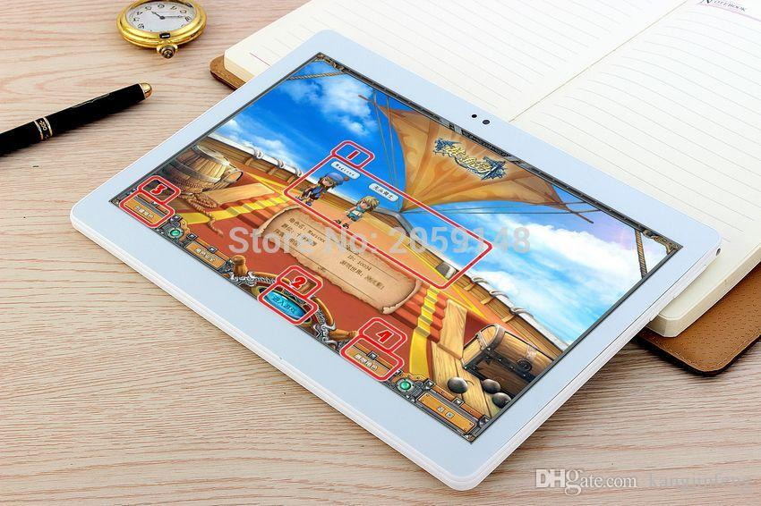 Tablet 2017 Google Android 6.0 os 10 polegada tablet 4G LTE FDD Octa núcleo 4 GB RAM 32 GB ROM 1920*1200 IPS Caçoa o Presente Tablets 10.1
