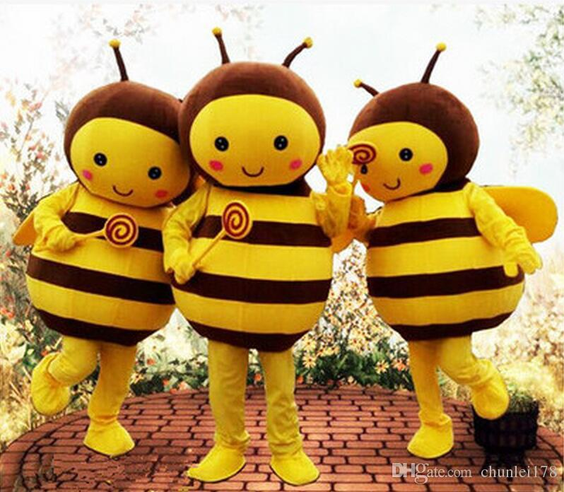 Arrival Lovely Little Honey Bee Mascot Costume Cartoon Character Bee Party Carnival Costumes Fancy Dress For Adult/Children Butterfly Mascot Costume Mascot ... & Arrival Lovely Little Honey Bee Mascot Costume Cartoon Character Bee ...