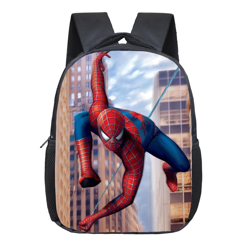 25c02407b6 Comics Hero Spiderman Backpack Children Super Hero Spider Man School Backpacks  Boys Cartoon Superman Kids Students School Bags Kids Backpack Cheap Bags  From ...