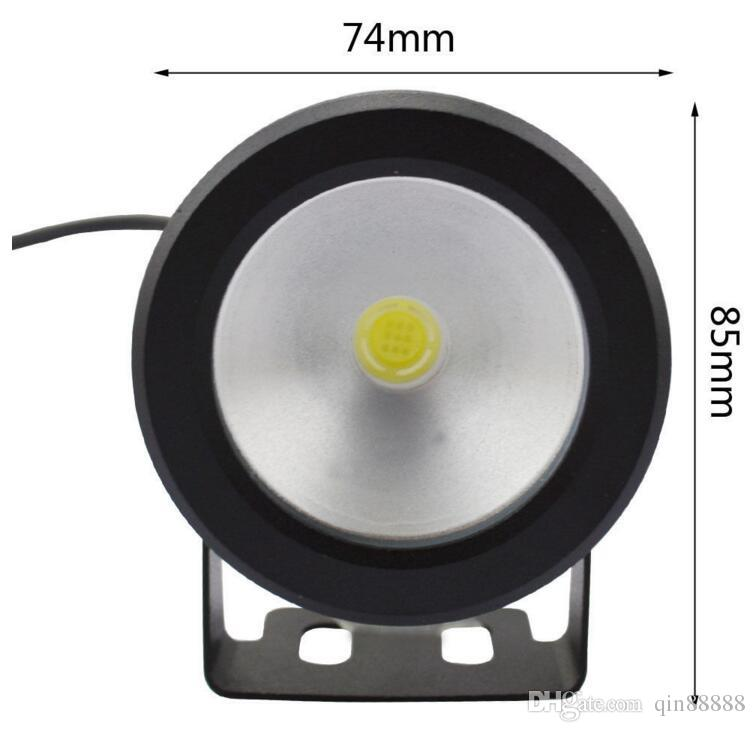 Waterproof Led Underwater Light Warm White/ RGB LED Pool Pond Fountain Lamp 10W 12V RGB Floodlight