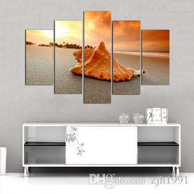No frame conch modern oil painting decorative frame module pictures she Din van Roku adornment picture