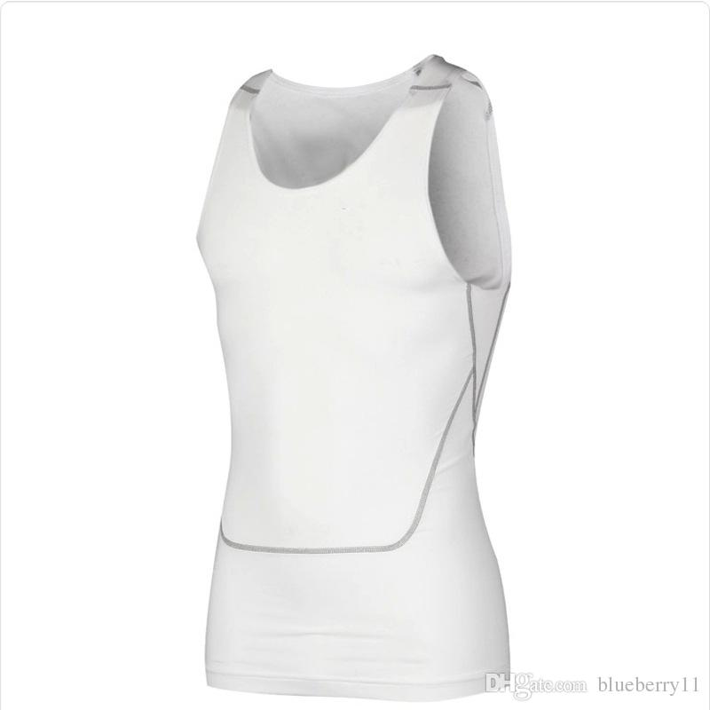 Men Compression Base Line Fitness Sleeveless Shirt Vest Breathable Top