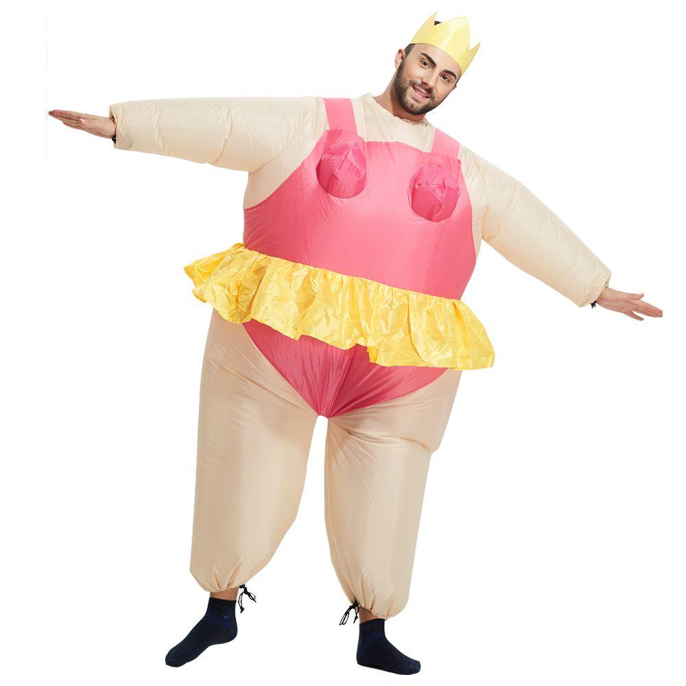 3ae1958a87 Acquista Costumi Gonfiabili Della Ballerina Del Vestito Chub Dell'adulto  Del Costume Gonfiabile Divertente Di Natale Gli Uomini A $29.1 Dal Ouzhe |  DHgate.