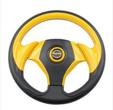 13 inch 14 inch Universal PVC+PU Look Steering Wheel 350mm Momo Steering Wheel Racing Car Steering Wheel