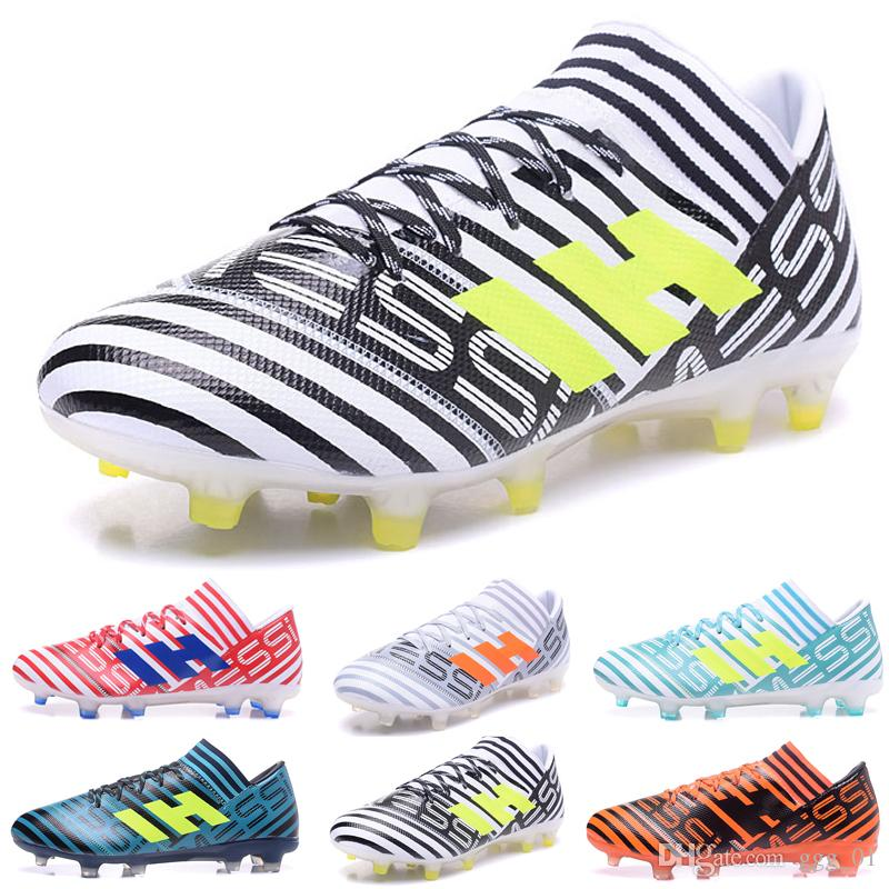94064a8fa New arrival NEMEZIZ 17.1 FG Men's Soccer Shoes Drop shipping High quality  cheap Performance Male waterproof soccer cleats football boot