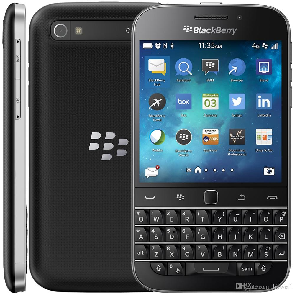 Refurbishedclassicq20 4g Lte Smart Phone 35inch Screen Dual Core 2g Blackberry Classic Ram 16g Rom 80mp Camera Unlocked Phones Cell Service For Kids From