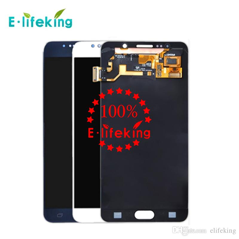 Original LCD For Samsung Galaxy Note 5 Touch Screen Digitizer Display High Quality Assembly Replacement N9200 N920 N920T N920A+