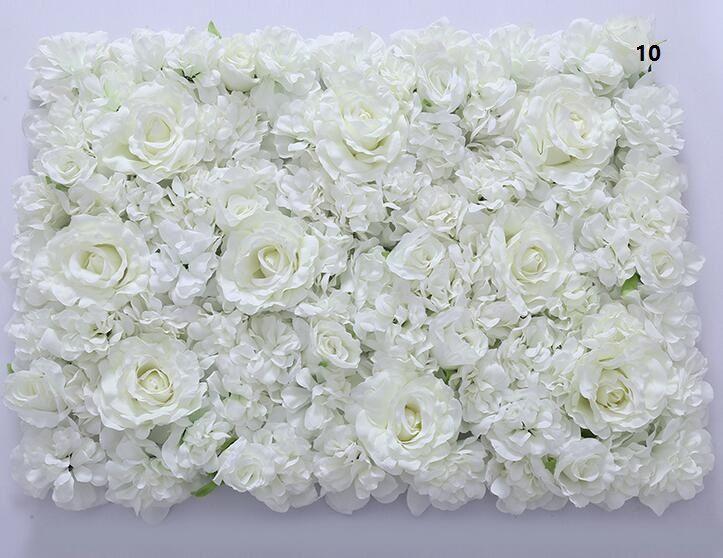 Blumenwand Silk stieg Tracerywandverschlüsselung Blumenhintergrund künstliche Blumen kreative Hochzeit Stadium freies Verschiffen WT055