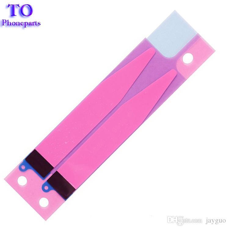 50 UNIDS Batería Etiqueta Adhesiva Pull Strip Tab Para iPhone 7G 4.7 7 más 5.5 Piezas de Repuesto de Pegamento de Batería